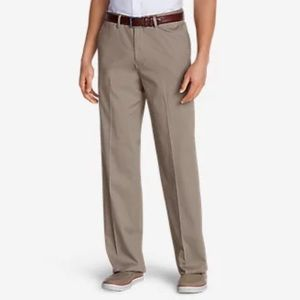 Edie Bauer Relaxed Fit Khakis